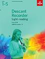 Descant Recorder Sight-Reading 2018